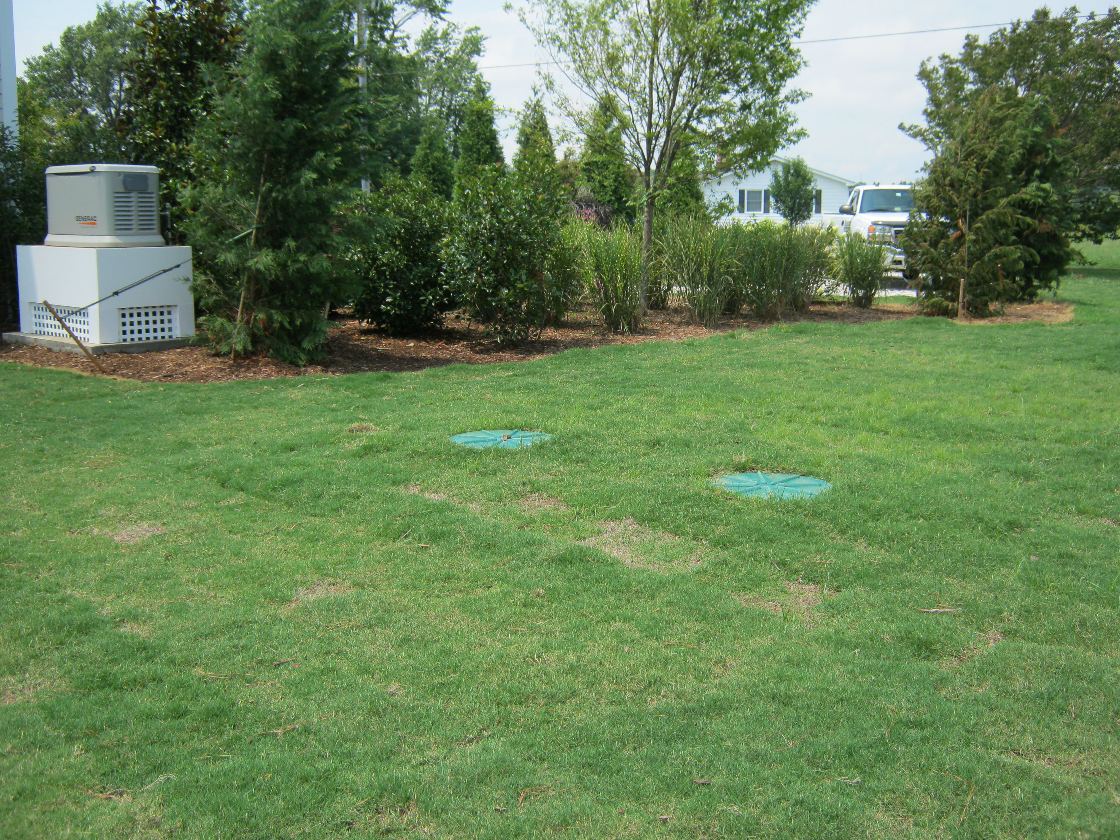 Septic System Site